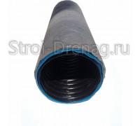 Труба дренажная двухслойная N ПНД d160 с перфорацией, в Typar-фильтре (50м)