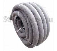 Труба дренажная ПНД, перфорированная в геотекстиле d200 мм (40м)