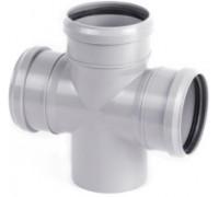 Крестовина одноплоскостная для внутренней канализации d110 х 110 90°