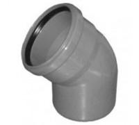 Отвод для внутренней канализации d110 45°