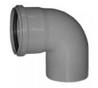 Отвод для внутренней канализации d110 90°